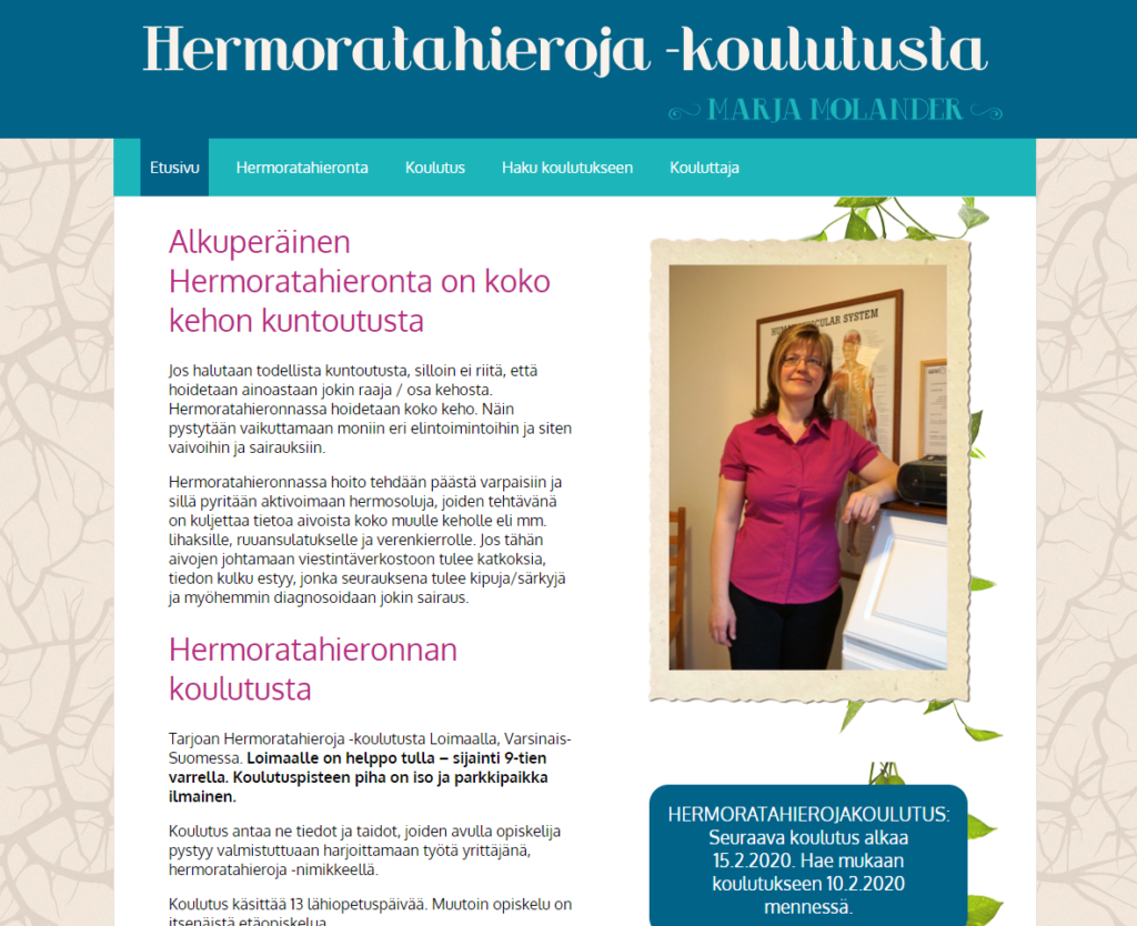 Hermoratahieroja_MarjaMolander_nettisivut